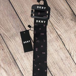 💐3/$20 NWT Little Boys DKNY silk tie